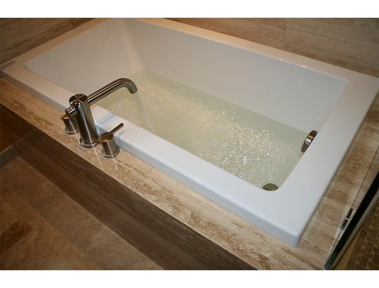 African inspired bath
