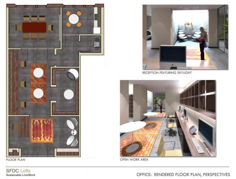 SF Live-Work Loft Concept